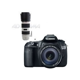 Canon EOS 60D Digital SLR Camera / Lens Kit. With EF 18-135mm f/3.5-5.6 IS USM Lens & EF 70-200mm f/2.8L IS II USM AutoFocus Telephoto Zoom Lens