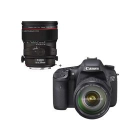 Canon EOS-7D Digital SLR Camera / Lens Kit with EF 28-135mm f/3.5-5.6 IS USM Standard Zoom Lens and Canon TS-E 24mm f/3.5L II Tilt-Shift Lens