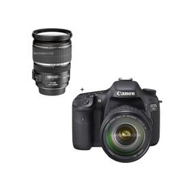 Canon EOS-7D Digital SLR Camera / Lens Kit with EF 28-135mm f/3.5-5.6 IS USM Standard Zoom Lens and Canon EF-S 17-55mm f/2.8 IS USM Ultra Wide Angle Zoom Lens
