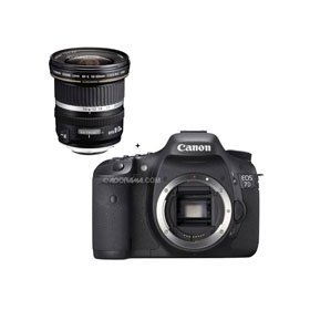 Canon EOS-7D Digital SLR Camera with 10mm - 22mm f/3.5-4.5 USM Autofocus Zoom Lens