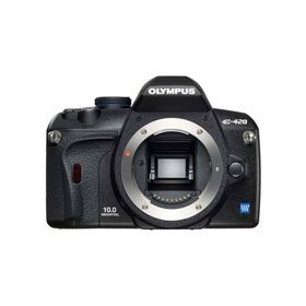 Olympus E-420 10.0 Megapixel Digital SLR Camera Body - Refurbished by Olympus U.S.A.