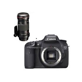 Canon EOS-7D Digital SLR Camera with EF 180mm f/3.5L Macro USM