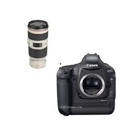 Canon EOS-1D MARK-IV Digital SLR Camera with EF 70-200mm f/4L IS USM Autofocus Telephoto Zoom Lens