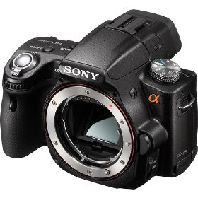 Sony Alpha SLTA55V DSLR with Translucent Mirror Technology (Camera Body only) (Black)