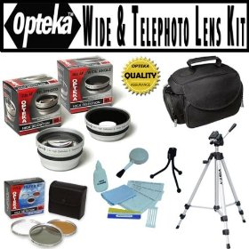Opteka HD� Professional Digital Accessory Kit for Panasonic Lumix DMC-FZ100 Digital Camera