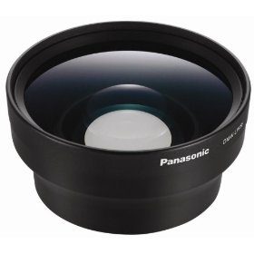 Panasonic DMW-LW55 55mm Wide Conversion Lens for Panasonic FZ7, FZ30 and FZ50 Digital Cameras