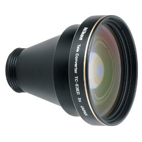 Nikon TC-E3ED 3X Teleconverter Lens for Nikon 4300, 4500, 5000 & 8400 Digital Cameras