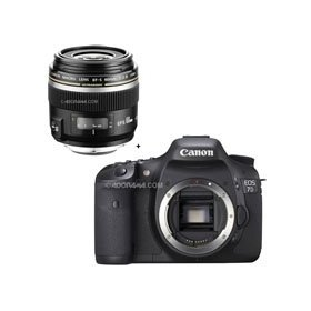 Canon EOS-7D Digital SLR Camera with EF-S 60mm f/2.8 Macro USM