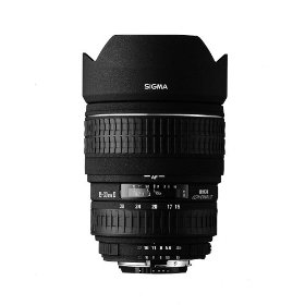 Sigma 15-30mm f/3.5-4.5 EX DG IF Aspherical Ultra Wide Angle Zoom Lens for Nikon SLR Cameras