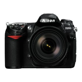 Nikon D200 10.2MP Digital SLR Camera with 18-200mm f/3.5-5.6G ED-IF AF-S VR DX Nikkor Zoom Lens