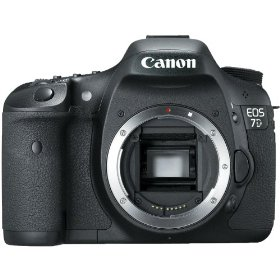 Canon EOS 7D 18 MP CMOS Digital SLR Camera (Gray Market) with 3-inch LCD (Body) + Mini Tripod & Cleaning Kit