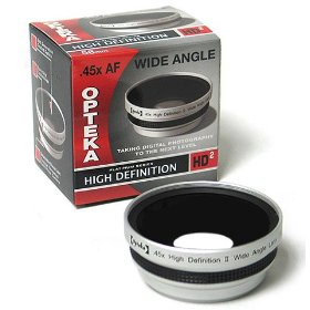 Opteka .45x HD� Wide Angle Lens for Canon A540 A520 A510 A95 A80