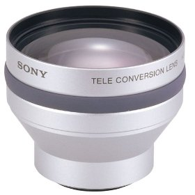 Sony VCLHG2037X High Grade Telephoto Lens for some Sony Camcorders