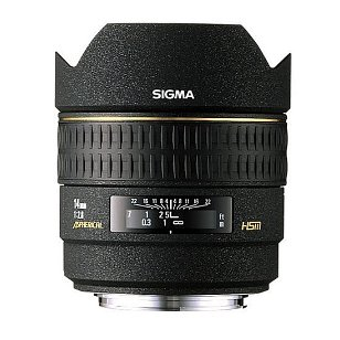 Sigma 14mm f/2.8 EX HSM RF Aspherical Ultra Wide Angle Lens for Canon SLR Cameras