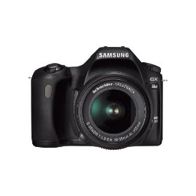 Samsung GX-1L 6.3MP Digital SLR Camera with Schneider D-XENON 18-55mm Lens