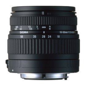 Sigma V9940 18-50mm F3.5-5.6 DC Lens plus 55-200mm Mount for Sigma Digital SLR's