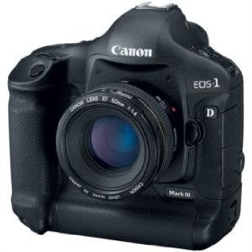 Canon EOS 1D Mark III - Digital camera - SLR - 10.0 Mpix - body only - supported memory: CF, MMC, SD, Microdrive, SDHC