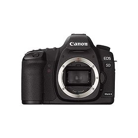 Canon EOS-5D Mark II Digital SLR Camera Body, 21.1 Megapixels with 3.0