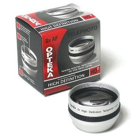 Opteka 2x HD² Telephoto Lens for Sony HC42 HC32 HC21