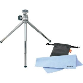 Sony VCTMTK Travel Tripod for Compatible Sony Cameras & Camcorders