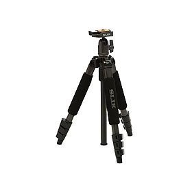 Slik Mini II 43.3IN. Compact 4 Section Tripod With Ball Head in Gun Metal Finish