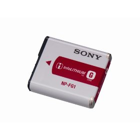 Sony NP-FG1 InfoLITHIUM Type G Rechargeable Li-Ion Battery Pack for Sony W & H Series Digital Cameras