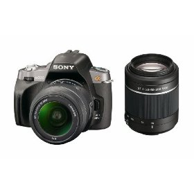 Sony Alpha A330Y 10.2 MP Digital SLR Camera with  Super SteadyShot INSIDE Image Stabilization and 18-55mm and 55-200mm Lenses
