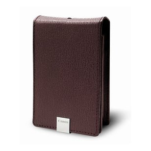 Canon PSC-1000 Deluxe Burgundy Leather Case for the Canon SD1000 Digital Camera