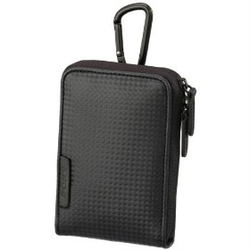 Sony LCS-CSVC Carrying Case with Carabineer for Cyber-shot Digital Camera (Black)