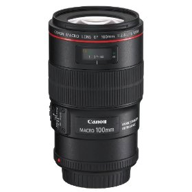 Canon EF 100mm f/2.8L IS USM 1-to-1 Macro Lens for Canon Digital SLR Cameras