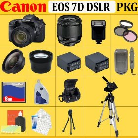 Canon EOS 7D 18MP SLR Digital Camera