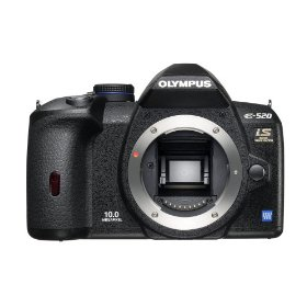 Olympus Evolt E520 10MP Digital SLR Camera with Image Stabilization (Body Only)
