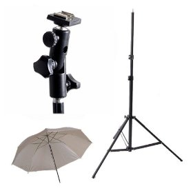 CowboyStudio Strobist Kit Photography Photo Studio Flash Mount Umbrellas Kit