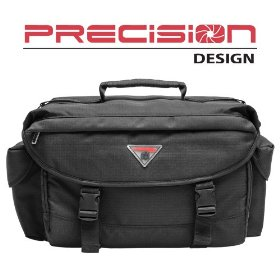 Precision Design 2000 Digital SLR Camera System Case/Gadget Bag for Sony Alpha DSLR Digital SLR Cameras - Holds & Protects Your SLR Camera with zoom lens attached, Plus 4 Extra Lenses, Flash & Accessories