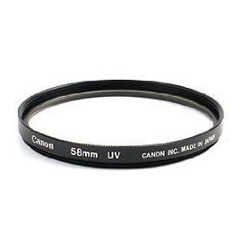Canon Uv Filter 58MM -dell
