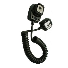 Opteka E-TTL / E-TTL II Off-Camera Flash Sync Cord for Canon EOS Cameras & Speedlite Flashes (Canon OC-E3 Equivalent)