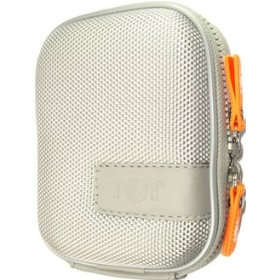 BOXIE Bright Silver Camera Case for Canon PowerShot, Sony CyberShot, Nikon Coolpix, Pentax Optio, Casio Exilim, Olympus Stylus and Panasonic Lumix - Eligible for FREE Super Saver Shipping