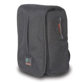 Kata DF-408 DPS Series Digital Flap Pouch for Small Digital Point and Shoot Cameras with Accessories (Black)