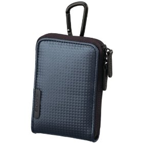 Sony Sporty Carrying Case with Carabineer for Webbie MHS-PM1 & Bloggie MHS-PM5 (Blue)
