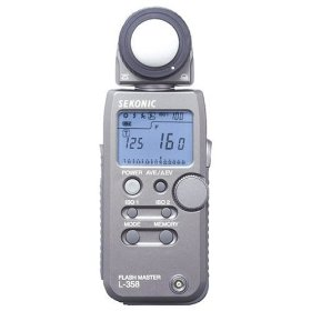 Sekonic L-358 Flash Master Light Meter