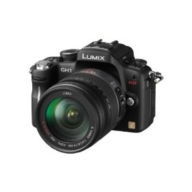 Panasonic DMC-GH1K 12.1MP Four Thirds Interchangeable Lens Camera with 1080p HD Video