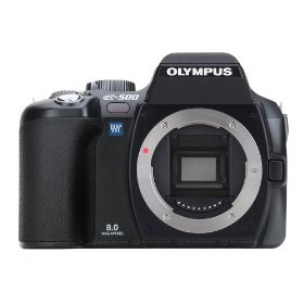 Olympus Evolt E500 8MP Digital SLR (Body Only)