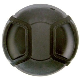 Zeikos ZE-LC58 58mm Plastic Snap On Lens Cap (Black)