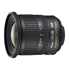 Nikon 10-24mm f/3.5-4.5G ED AF-S DX Nikkor Wide-Angle Zoom Lens for Nikon Digital SLR Cameras