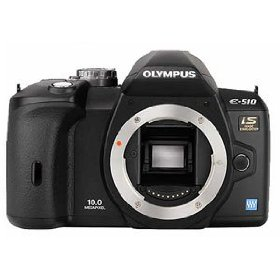 Olympus Evolt E510 10MP Digital SLR Camera with CCD Shift Image Stabilization (Body Only)