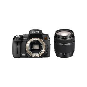 Sony A500 Digital SLR Camera, 12.3 Megapixel, 3.0 inch LCD Screen with 18-200mm for 3.5-6.3 AF Zoom Lens