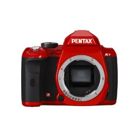 Pentax K-r 12.4 MP Digital SLR Camera with 3.0-Inch LCD (Red Body)
