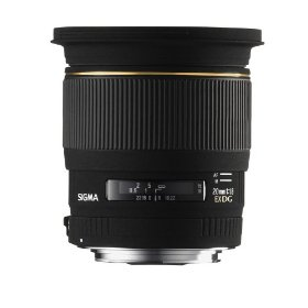 Sigma 20mm f/1.8 EX DG RF Aspherical Wide Angle Lens for Canon Digital SLR Cameras