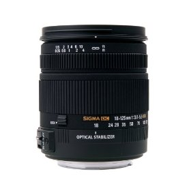 Sigma 18-125mm f/3.8-5.6 AF DC OS HSM Zoom Lens for Canon Digital SLR Cameras