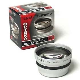 Opteka 2.2x High Definition� Telephoto Lens for Canon PowerShot A570 A590 IS Digital Camera
